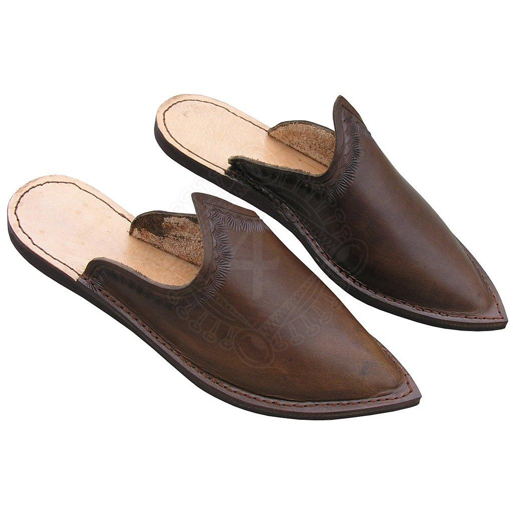 sneakers for cheap c852c 25abd Leder Pantoffeln