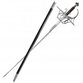 Rapier William mit Scheide