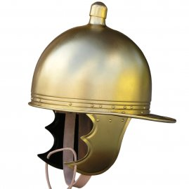 Helm Montefortino aus Messing
