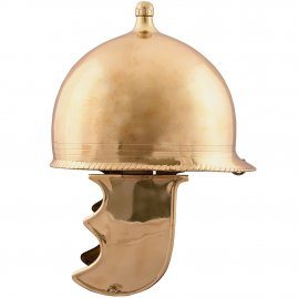 Republikanischer Montefortino-Helm aus Messing